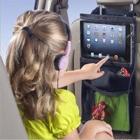 Universal Car Backseat Storage Bag for iPad or Tablet