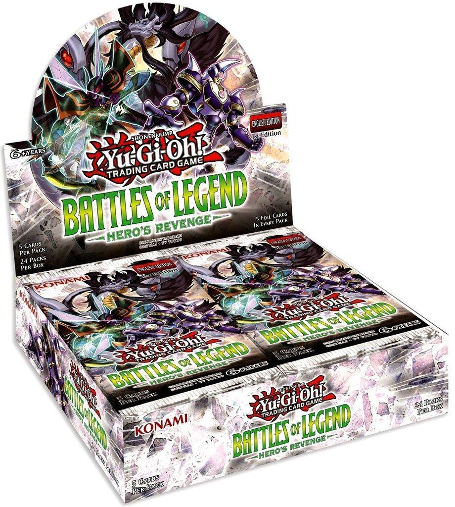 Yu-Gi-Oh! Battles of Legend: Hero's Revenge Booster Box image