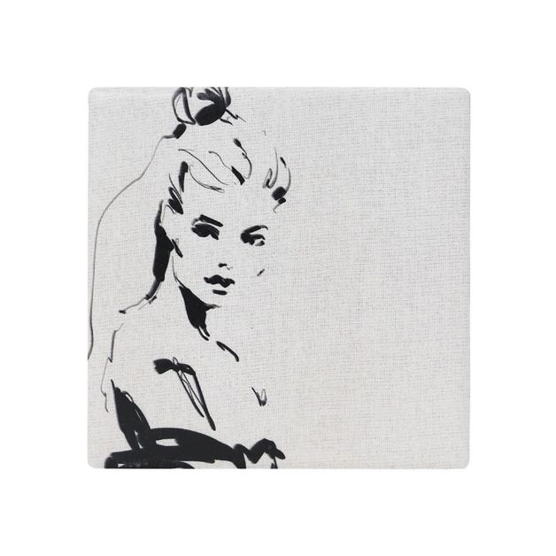 Splosh: Full Bloom Lady Ceramic Coaster