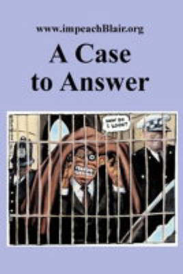A Case to Answer by Glen Rangwala image