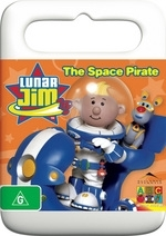 Lunar Jim - The Space Pirate (Handle Case) on DVD