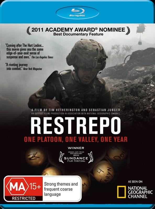 Restrepo on Blu-ray