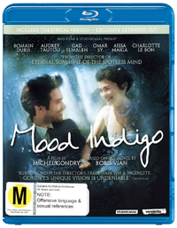 Mood Indigo on Blu-ray