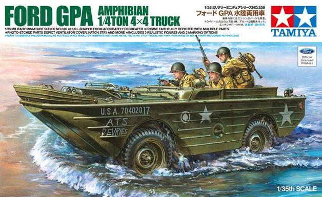 Tamiya 1:35 Ford GPA Amphibian 1/4ton 4x4 Truck