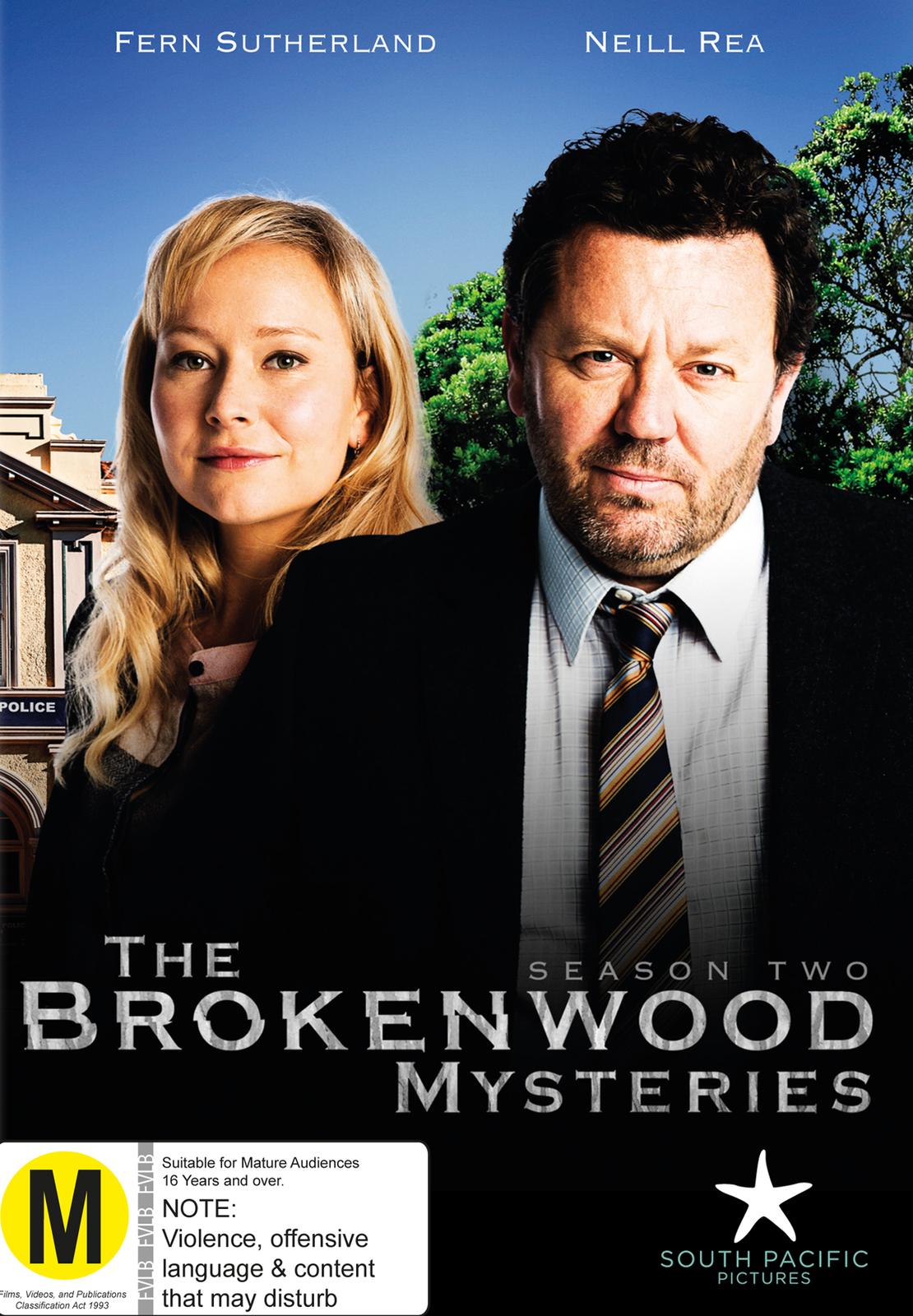 The Brokenwood Mysteries - Season Two on DVD image