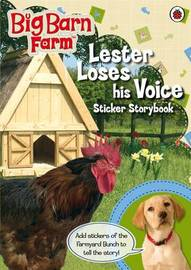 Lester Loses His Voice Sticker Story Book by Ladybird