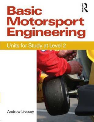 Basic Motorsport Engineering by Andrew Livesey image