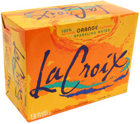 La Croix Sparkling Water - Orange 355ml Can (12 Pack)