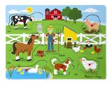 Melissa & Doug: Old MacDonald's Farm - Sound Puzzle