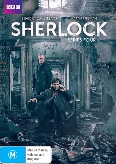 Sherlock - Series Four on DVD image