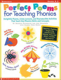 Perfect Poems for Teaching Phonics by Hechtman Judi
