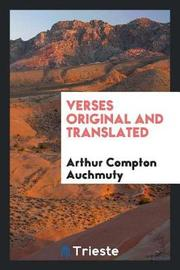 Verses Original and Translated by Arthur Compton Auchmuty image