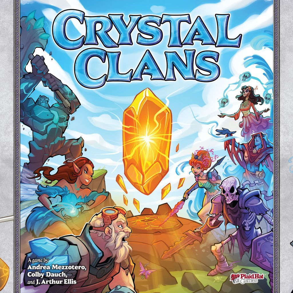 Crystal Clans - Board Game image