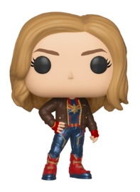Captain Marvel (with Jacket) - Pop! Vinyl Figure image
