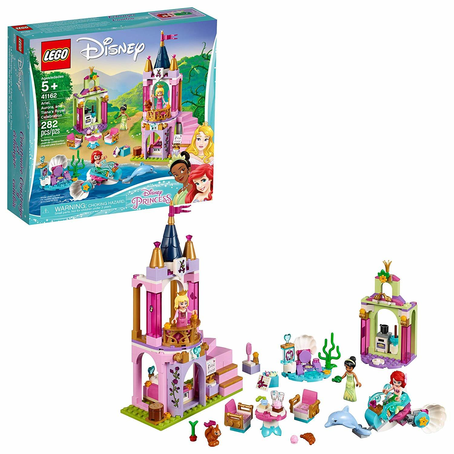 LEGO Disney - Ariel, Aurora, & Tiana's Royal Celebration (41162) image