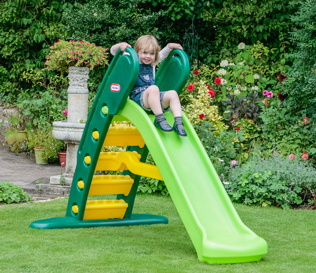 Little Tikes: Easy Store Giant Slide - Evergreen