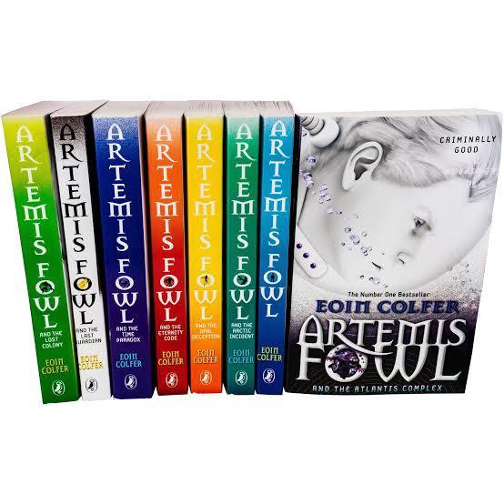 Artemis Fowl 8 Pack