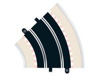 Scalextric 45 Degree Radius 2 Curve Track