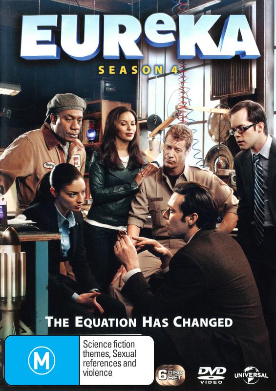 Eureka - Season 4 on DVD