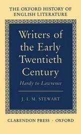Writers of the Early Twentieth Century by J.I.M. Stewart image