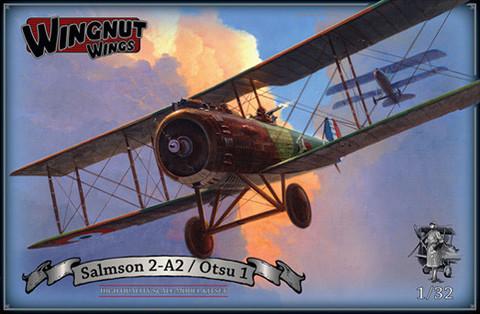 Wingnut Wings 1/32 Salmson 2-A2/Otsu 1 Model Kit