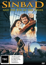 Sinbad & The Eye Of The Tiger on DVD