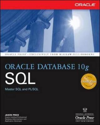 Oracle Database 10g SQL by Jason Price image