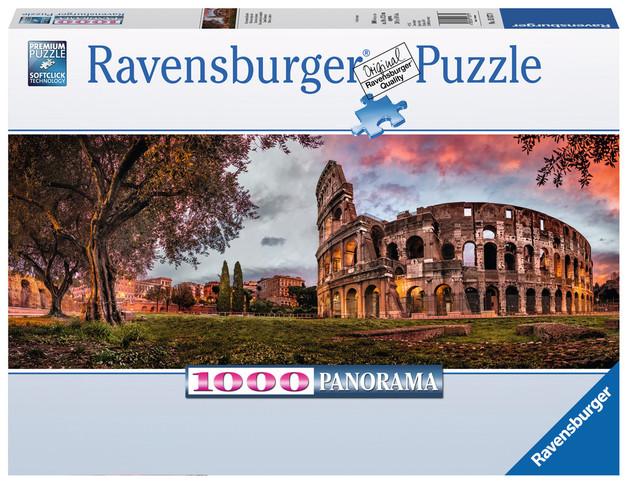 Ravensburger: Sunset Colosseum - 1000pc Panorama Puzzle