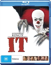 Stephen Kings's IT on Blu-ray