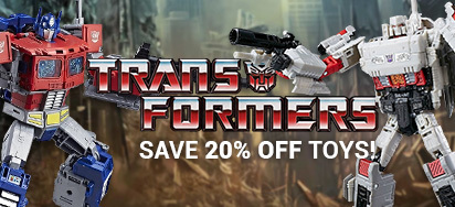 20% off select Transformers Toys!