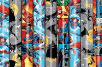 Tall Roll Wrap - DC Comics (3m)