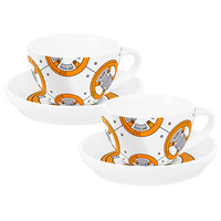 Star Wars Teacups & Saucers - BB8 (Set of 2)