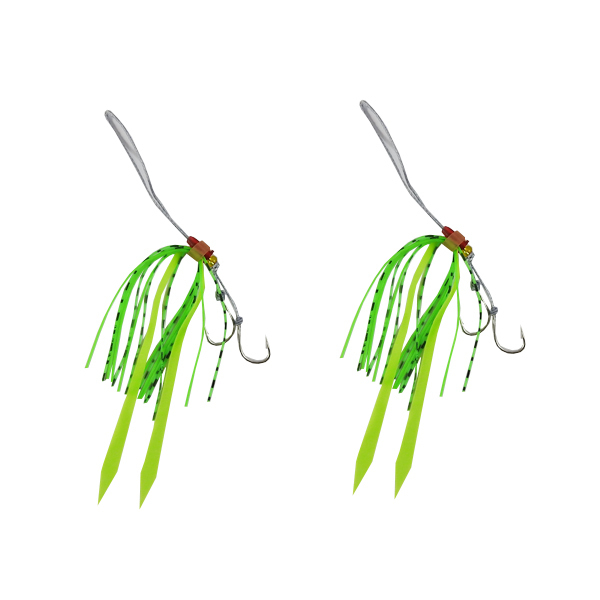 Catch Kabura Twin Pack Hook system Green