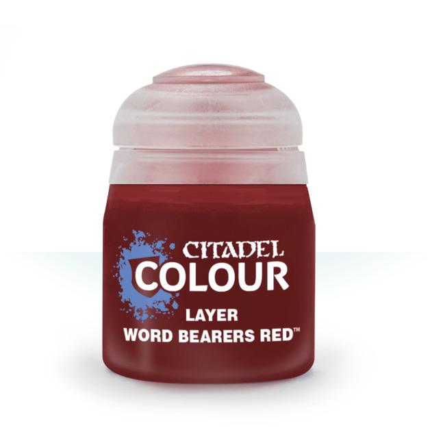 Citadel Layer: Word Bearers Red (12ml)