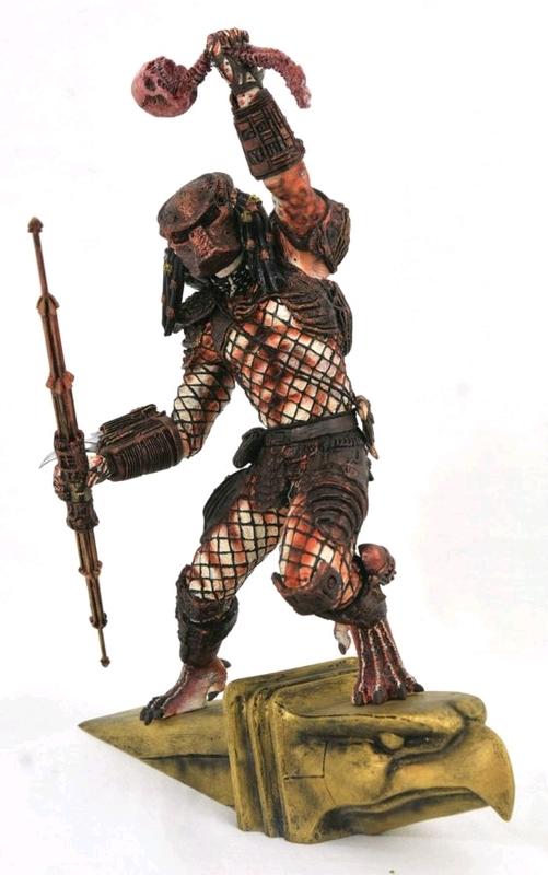 "Predator 2: Hunter Predator - 10"" Gallery Statue"