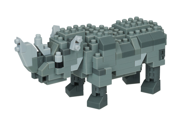 nanoblock: Critters - Rhinoceros