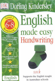 Handwriting Age 6-8 Workbook 1 by Dorling Kindersley image