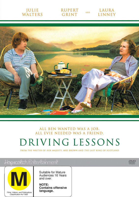 Driving Lessons on DVD