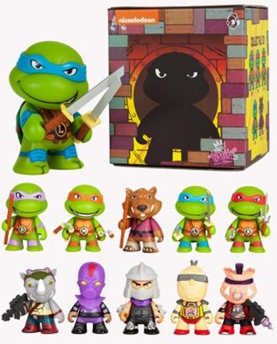 Teenage Mutant Ninja Turtles Mini Vinyl Figure (Blind Assortment)