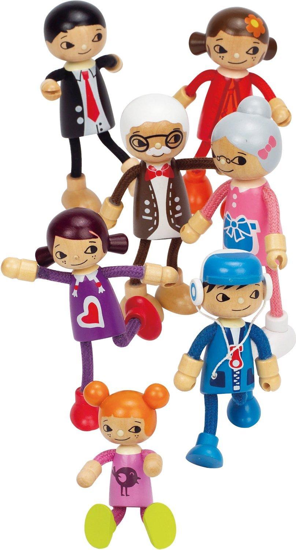 Hape: Son Wooden Doll image