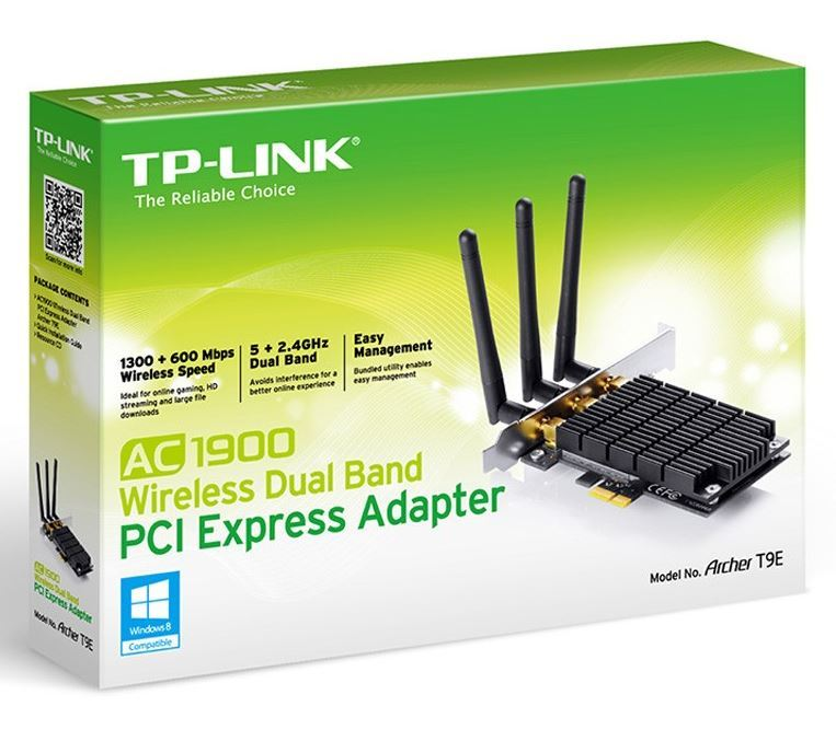 TP-LINK Archer T9E AC1900 Wireless Dual Band PCI Express Adapter image