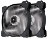 140mm Corsair SP140 High Static Pressure Case Fan Twin Pack - White
