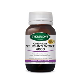 Thompsons: One-A-Day St Johns Wort 4000mg (60 Tablets) image