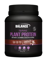Balance Naturals Plant Protein - Chocolate (500g)