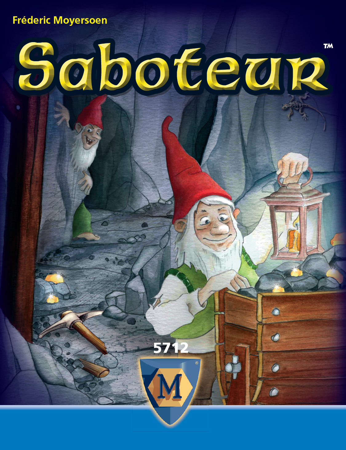 Saboteur - party card game image