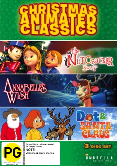 The Christmas Animated Classics Collection on DVD