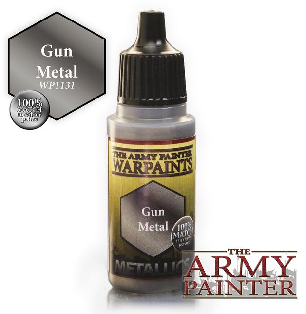 Army Painter: Warpaints - Gun Metal