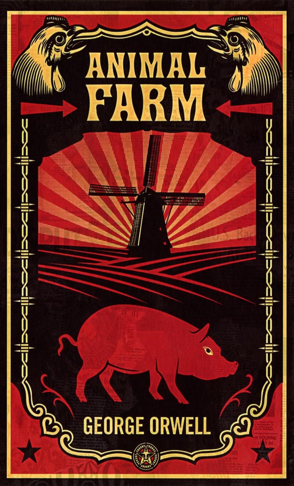 Animal Farm by George Orwell image