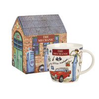 Queens At Your Leisure Mechanic Squash Mug In Box (400ml)