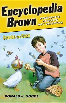 Encyclopedia Brown Cracks the Case by Donald J Sobol image
